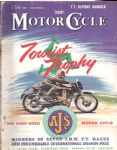 THE MOTORCYCLE - 14 JUNE 1956 - TT REPORT NUMBER - M2357